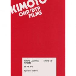 Kimolec PF : Translucent Mat Film 90µ Format : A3 (50 sheets)