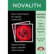 Ultra Glossy Photo Laser Paper 160gsm Size : A4 (50 sheets)