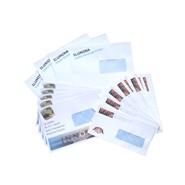 Laser printer envelopes 90gsm / window - Size : C4 (229x324mm)