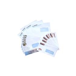Laser printer envelopes 90gsm / window - Size : DL (110x220mm)