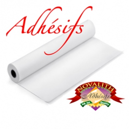 White Matt Adhesive Vinyl 310 microns - 17 inches roll (432mmx20M)