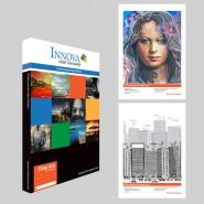 IFA25 - Papier Fine Art Recto-Verso Texture Douce (Blanc Naturel) 220g/m2 - A3 (25 feuilles)